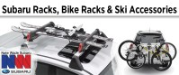 Genuine Subaru Roof Racks, Bike Racks, and Ski Accessories