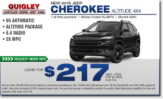 Charming Cherokee Lease Deals S Rabais Montreal