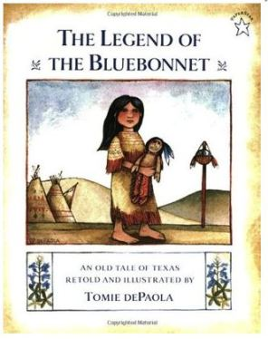 legend of the bluebonnet cover