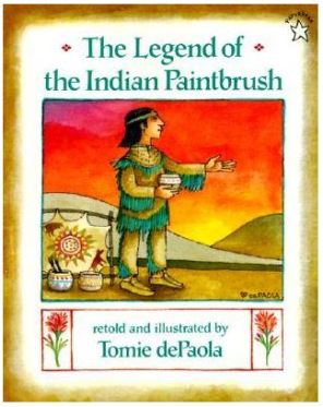 legend of the indian paintbrush cover