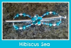 Hibiscus Sea flexi clip
