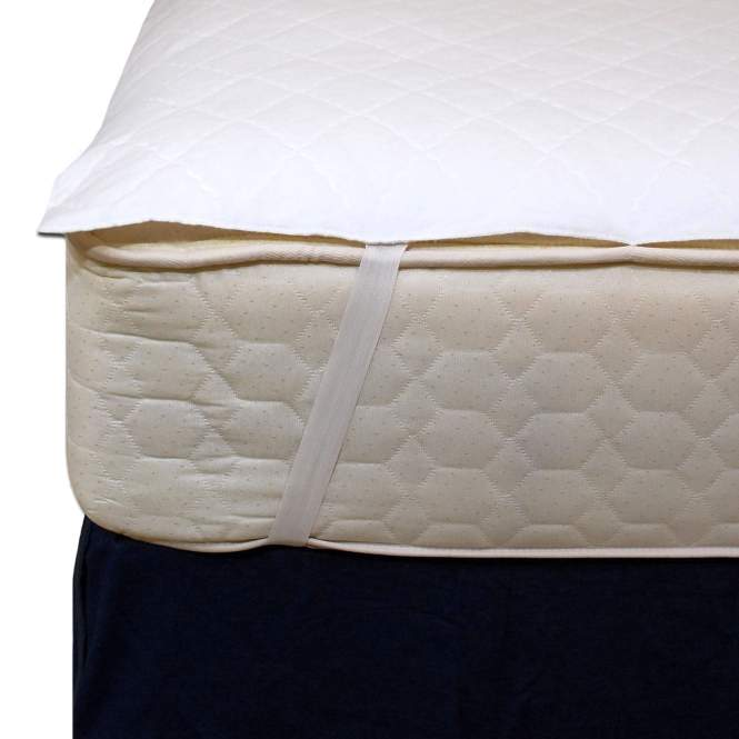 Mattress Pads With Anchor Bands