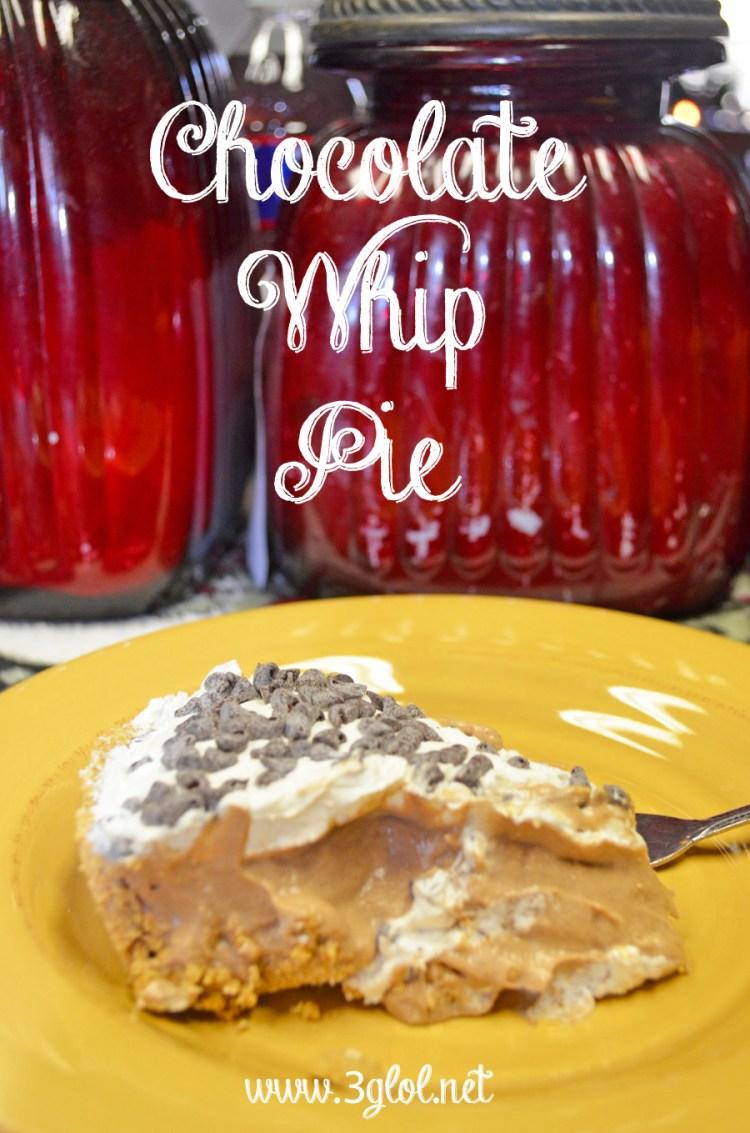 Chocolate Whip Pie