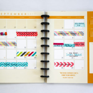3G Flux Planner Monthly Spread