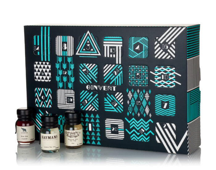 Ginvent Calendar 2017, Ginvent, Gin Advent, Christmas Gift, Gin Christmas