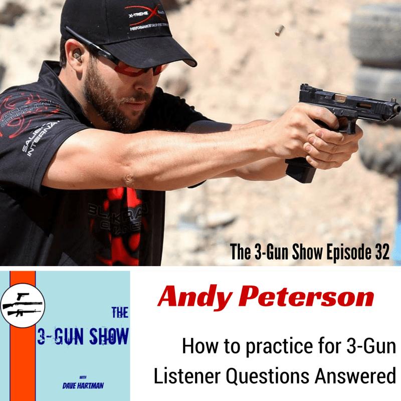 Andy Peterson Black Rain Ordnance 3-Gun