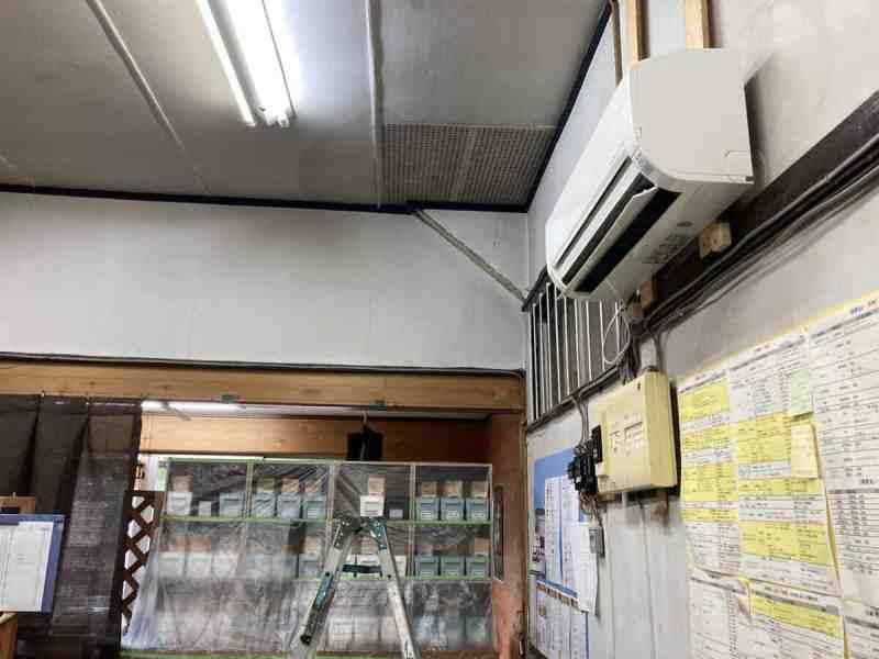 壁掛けテレビ3馬力業務用エアコン