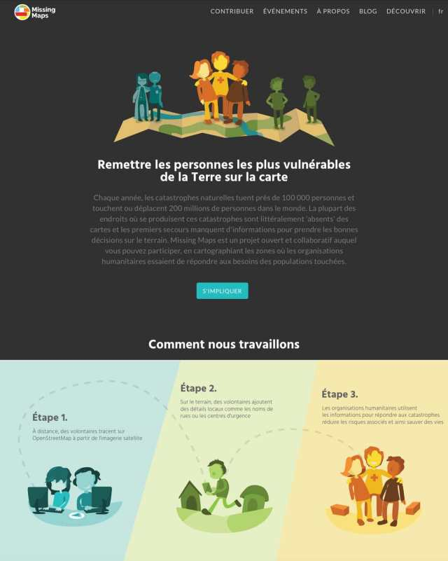 MissingMaps: exemple de gamification pour participation collaborative