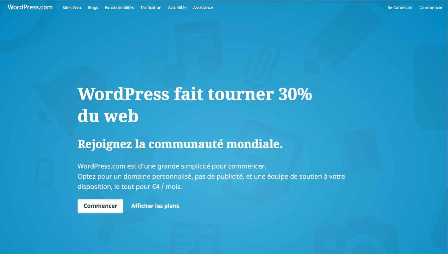 Pourquoi WordPress fait tourner 30% d'internet