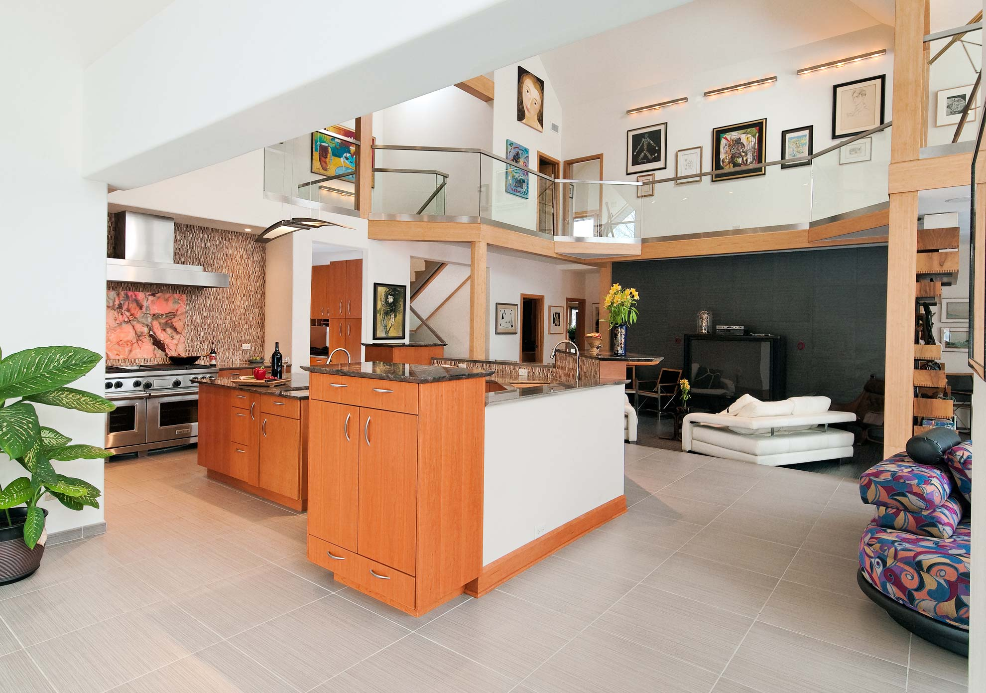 Dramatic Contemporary Kitchen