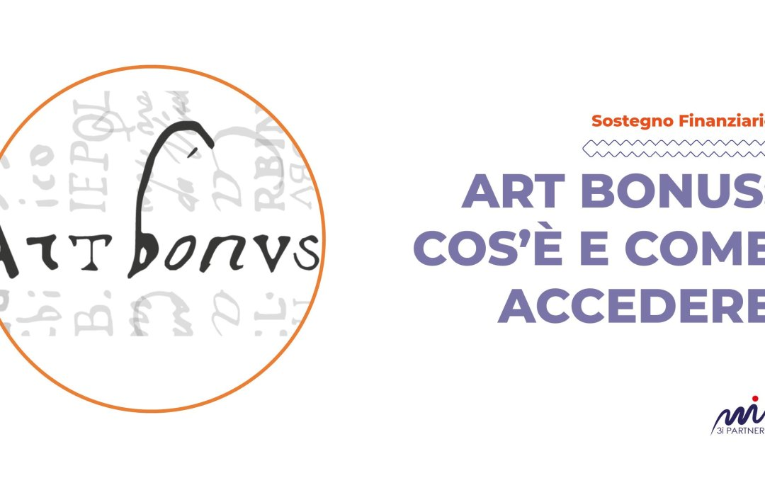 ART BONUS: COS'È E COME ACCEDERE