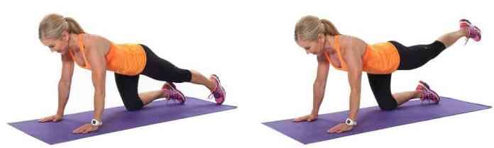 Try leg lifts to open up your hips and relieve hip pain.