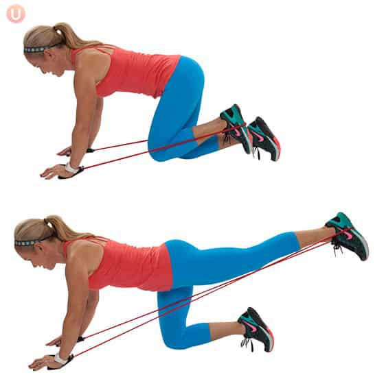 10-Minute Resistance Band Workout To Burn Fat