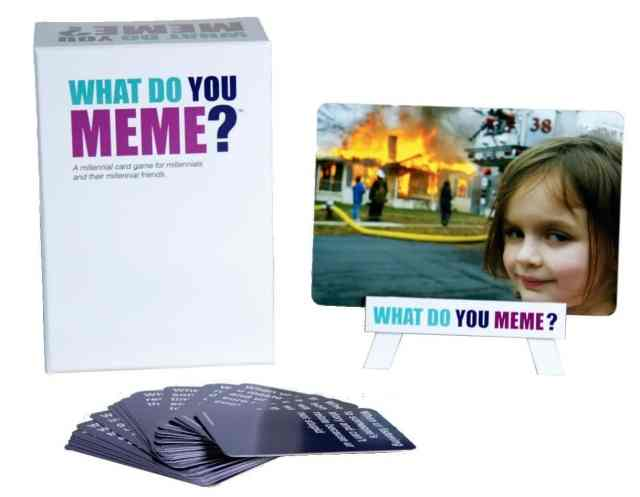 What Do You Meme Adult Card Game Gift Idea 2017 - 2018