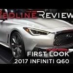 2017 Infiniti Q60 – Redline: First Look – 2016 Detroit Auto Show