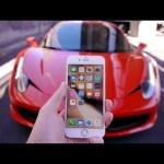 Driving Over an iPhone 6S with a Ferrari – Will it Survive?