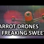 Parrot Bebop Drone & New Mini Drone Concept Devices – CES 2015