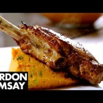 Spiced Pork Chop with Sweet Potato Mash – Gordon Ramsay
