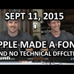 The WAN Show – NO MORE TECHNICAL DIFFICULTIES!! – September 11, 2015