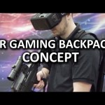 VR Gaming Backpack Concept from Aorus – CES 2016