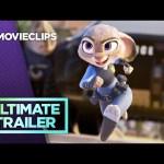 Zootopia Ultimate Bunny Cop Trailer (2016) HD