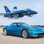 ZR1 Vette vs Jet! – Chevrolet Corvette ZR1 Races A U.S. Navy Fighter Jet