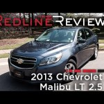 2013 Chevrolet Malibu LT 2.5 Review, Walkaround, Exhaust, & Test Drive
