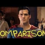 Batman V Superman Trailer – Homemade Side by Side Comparison