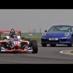 Can Porsche's 911 Turbo S outrun a Formula 4 car?