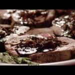Lamb Recipes – How to Make Stuffed Leg of Lamb with Balsamic Fig Basil Sauce