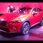 New Mazda CX-3 revealed at LA motor show