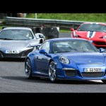 Porsche 911 GT3 vs Ferrari 458 Speciale vs McLaren 650S – supercar showdown