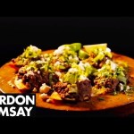 Spicy Black Beans with Feta and Avocado – Gordon Ramsay