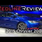 2015 Chrysler 200 – Redline: First Look – 2014 Detroit Auto Show
