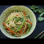 Asian Recipes – How to Make  Lo Mein Noodles