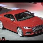 Geneva motor show 2014: Lighter and more powerful Audi TT revealed