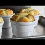 Apple & Cheddar Cheese Souffles – Easy Appetizer or Dessert Cheese Souffle Recipe