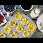 Breakfast Recipes – How to Make Scrambled Egg Muffins