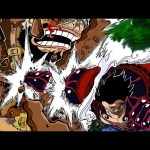 "Luffy Gear 4th vs Biscuit Knight ""Cracker"" – Luffy Goes All-Out 