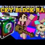 Minecraft: EPIC CONCERT LUCKY BLOCK RACE – Lucky Block Mod – Modded Mini-Game