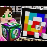 Minecraft: LUCKY BLOCK STRUCTURES (CANDYLAND, ORE FINDER, & GINGERBREAD HOUSE!) Mod Showcase