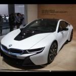 BMW i8 supercar – Frankfurt motor show
