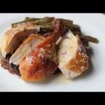 Million Dollar Chicken – Roast Chicken with Creme Fraiche, Shallot, Lemon, & Aleppo Pepper Glaze