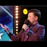 12 year-old Ellis Chick sings You Make Me Feel So Young | Britain's Got Talent 2014