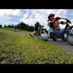 Go-Pro: Tricked-Out DIY Trike Drifting