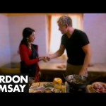 'Beautiful' Chef teaches Gordon to make Chicken with Sesame Seed