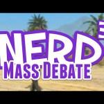 The Nerd³ Mass Debate – 7th October 2015
