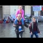 الأمطار تحاصر شريف عامر فى الأسكندرية لمدة 4 ساعات