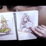 An Awkward Sketchbook Tour