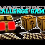 Minecraft: PINCH BEETLE CHALLENGE GAMES – Lucky Block Mod – Modded Mini-Game